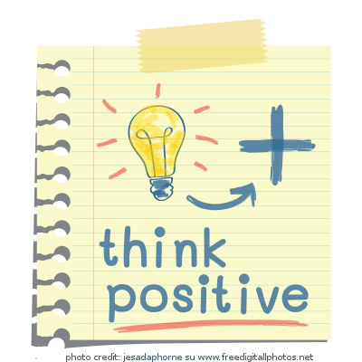immagine think positive